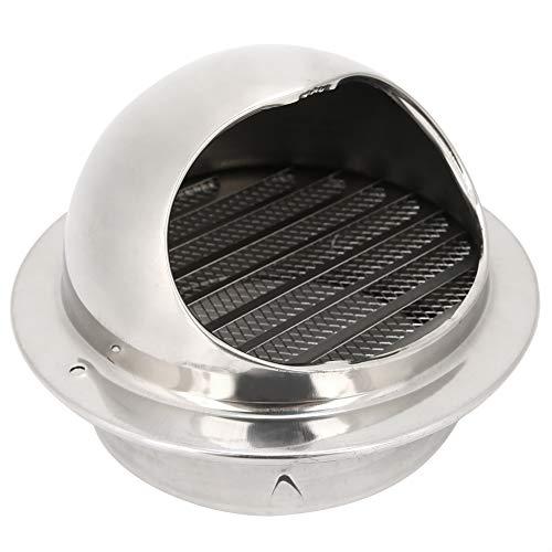 Salida de ventilación de Pared Ventilador de Cocina de Acero Inoxidable para el hogar Campana extractora Rejilla Salida Accesorio de ventilación
