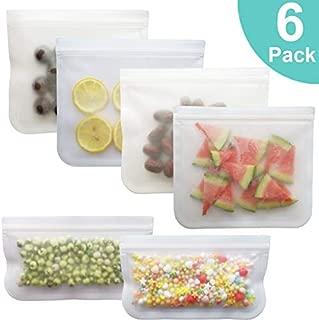 GUOYIHUA Bolsa de almacenamiento de alimentos de silicona multifuncional Bolsa de refrigerios de alimentos de estilo propio reutilizable Contenedor antifugas para verduras, alimentos líquidos