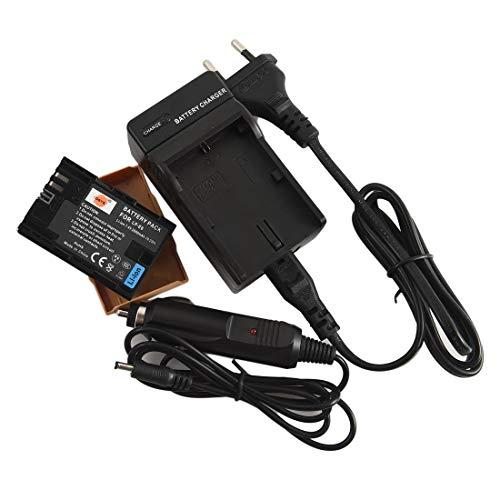 DSTE Repuesto Batería y DC88E Viaje Cargador kit para Canon LP-E6EOS 5D...