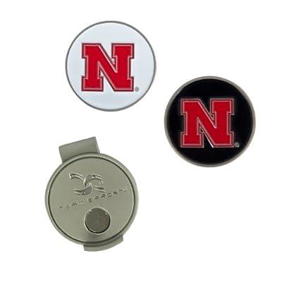 Team Effort Nebraska Cornhuskers Hat Clip & 2 Ball Markers