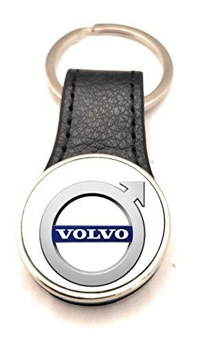 Schlüsselanhänger Stahl / Kunstleder Road Runner – Volvo (2 Seiten)