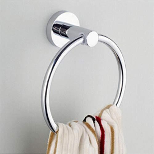 JOMSK Edelstahl Runden Stil Ring Wandhalter für Handtuchhalter Bad Küche