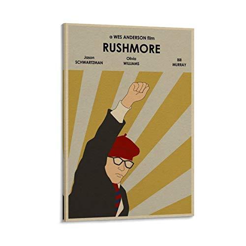 HUAIREN RUSHMORE - Póster de edición limitada con impresión de película retro...