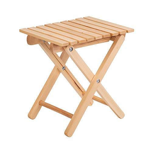 Klappstuhl aus Holz, Klappstuhl, Holzstuhl, kleine Holzstuhl, 31,5 x 25 x 35 cm