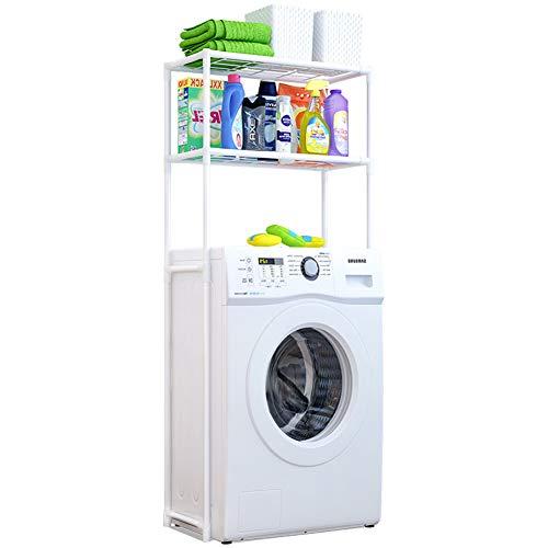 SETSCZY Badezimmerregal Waschmaschinenregal WC-Ständer WC-Organizer Bodenspeicherregal