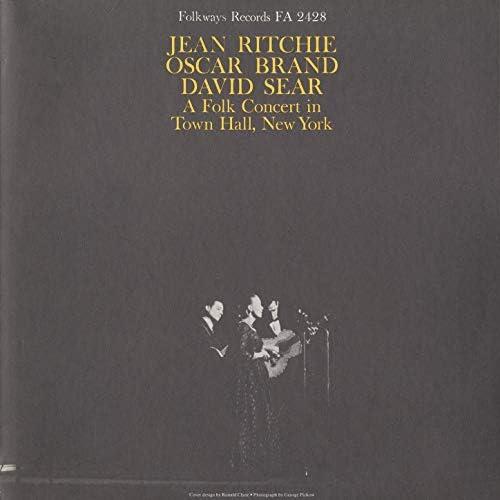 Jean Ritchie, Oscar Brand & David Sear