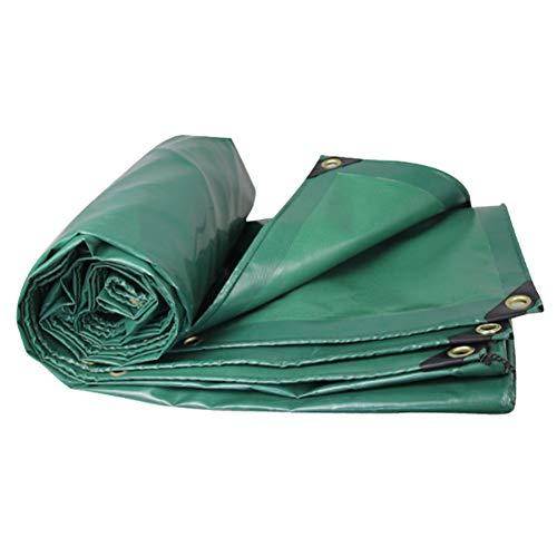 Heavy Duty waterdicht dekzeil, UV-bestendig Poly Tarp Cover Rip-Stop met Grommets Tarp, voor dekzeil luifel Tent, boot, camper of zwembad Cover 2x3m Groen