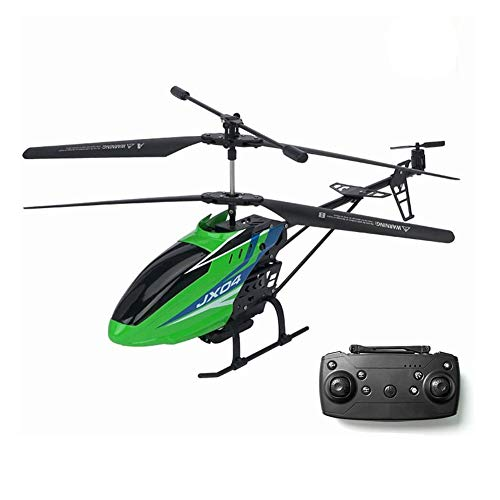 GRTVF RC Helicopter with High-Definition Camera, WiFi Real-Time Transmission, with Gyro Radio Remote Control 3.5 Channels Helicopter Boy Toy Aircraft Kids Drone Beginner Easy to Operate