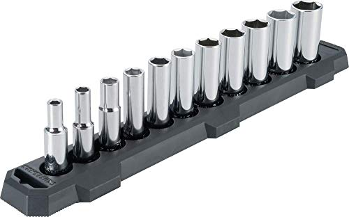 CRAFTSMAN Socket Set, SAE, 3/8-Inch Drive, 6-Point, 11-Piece (CMMT12044)