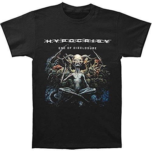 Hypocrisy Men's End of Disclosure T Shirt Black