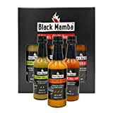 Chili Venom Hot Sauce Gift Sets by Black Mamba Foods | Jalapeno Chili Sauce, Peri Peri Sauce, &...