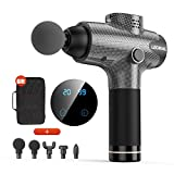 Massage Gun for Athletes, Portable Body Muscle Massager Professional Deep Tissue Massage Gun for Pain Relief with 5 Massage Heads 20 Speed High-Intensity Vibration Rechargeable Legiral Le3 Massage Gun