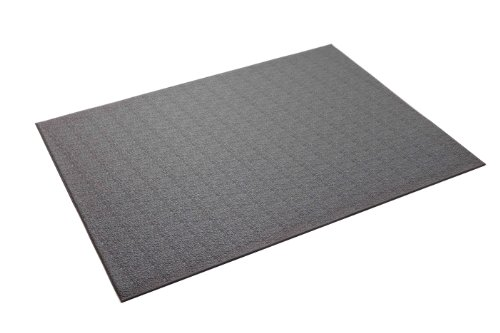 """SuperMats Heavy Duty Equipment Mat 11GS-GRAY Made in U.S.A. for Large Treadmills Ellipticals Rowers Rowing Machines Recumbent Bikes and Exercise Equipment Color Gray (3-Feet x 6.5-Feet) (36"""" x 78"""") (91.44 cm x 198.12 cm)"""