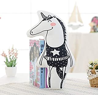 LAJKS I Rainbow Unicorn, Fox,Bear, Cloud, Rabbit Plush Pillow Cute Soft Animal Doll Kids Bedroom Decoration Thing You Must Have Unique Gifts My Favourite Superhero Birthday LOL Unboxed