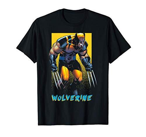 Marvel X-Men Wolverine Dark Poster T-Shirt