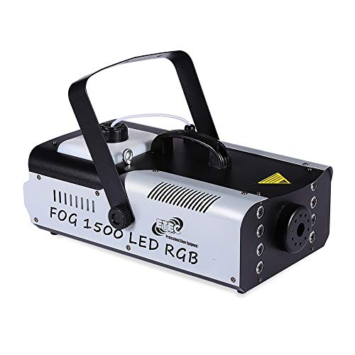 ETEC FOG 1500 LED RGB 3in1 DMX Nebelmaschine Party Smoke 1500W DJ Fernbedienung
