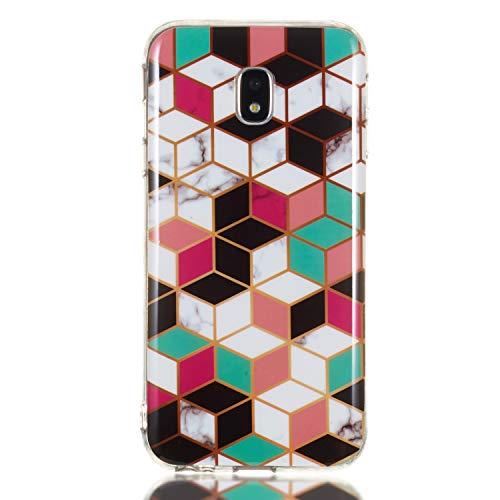 Tosim Galaxy J3 2017 /J330 Hülle Flex Silikon, Handyhülle Stossfest Kratzfest Weich Schutzhülle Cover Soft Case für Samsung Galaxy J3 2017 - TOYHU260278 T8