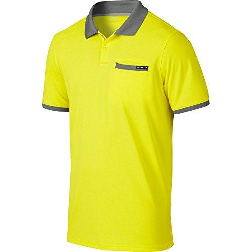 Oakley Myers – Polo de Golf pour Homme - Jaune - XXL