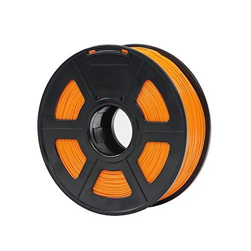 NO LOGO L-Yune, Materiali di Stampa di plastica dei Materiali di consumo di plastica del filamento della Stampante 3D di PLA 1.75mm 1kg 28 Colori di generi for Voi scelgono (Colore : Orange)