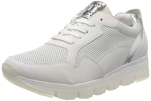 Marco Tozzi 2-2-23754-34, Zapatillas para Mujer, Blanco (White Combi 197), 38 EU