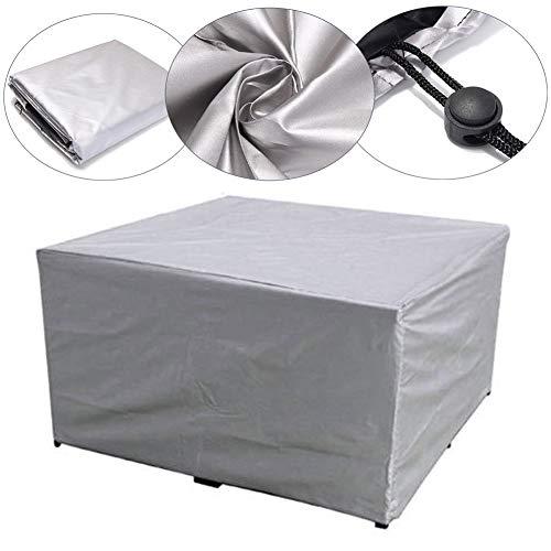 HYISHION Abdeckung für-Lounge-Sofa Gartenbank robuste Schutzhülle für Gartenmöbel Oxford 600D Wasserdicht Witterungsbeständig Winterfest,90 * 90 * 40cm