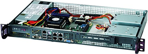 Supermicro CSE-505-203B Chassis Schwarz