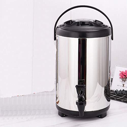 De acero inoxidable con aislamiento dispensador de bebidas for los barriles de té / café espresso / leche aislados, barriles de té de leche aislados o refrigerados comerciales con grifos, utilizadas f