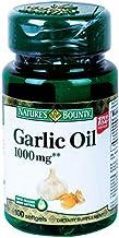 Nature's Bounty Garlic Oil Softgels, 1000 mg