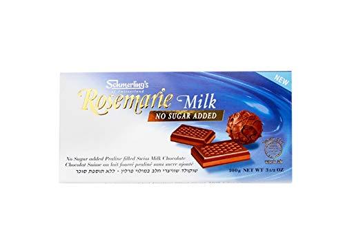 Schmerling - Rosemarie lait sans sucre - 100g x Lot de 5