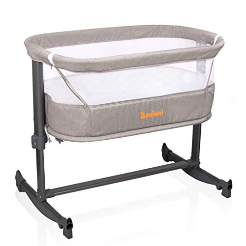 Baninni Co-sleeper Wieg Aan Bed Nesso Sand
