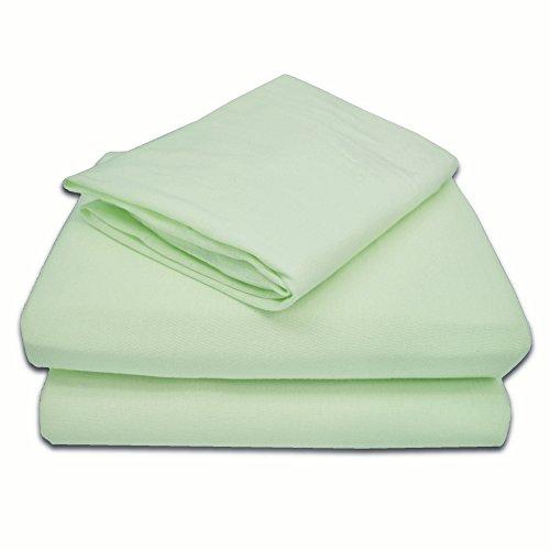 TL Care Lot de 3 draps en jersey 100 % coton pour enfant