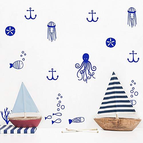 6 Pcs MTX Ltd Style Occidental Creative D/écoration Murale L/éopard Veines Staircase Stickers Auto-Adh/ésif /Étanche DIY Amovible Mural 100X18Cm