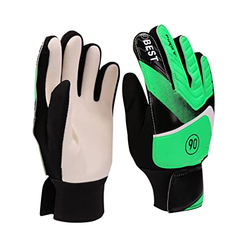 Mymyguoe Kinder Winter Handschuhe Fahrradhandschuhe Touchscreen - Torwarthandschuhe für Kinder Jungen Kinder Fußballhandschuhe Schutz Super Grips Palms Handschuhe