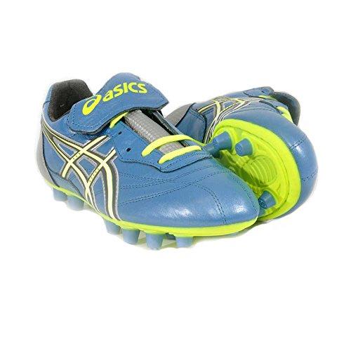 Asics - Botas de fútbol para Hombre Azul Turchese 39.5