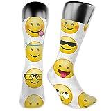 Jesse Tobias Preciosos calcetines personalizados con bolsa de expresión calva amarilla, medias medianas para correr, atletismo, viajes, uso diario