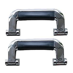 2x Koffergriff Griffe für Koffer Flightcase Tragegriff aus Kunststoff