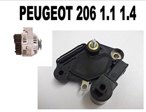 Regulador alternador para Peugeot 206 1.1 1.2 1998 1999 2000 2001 2002...
