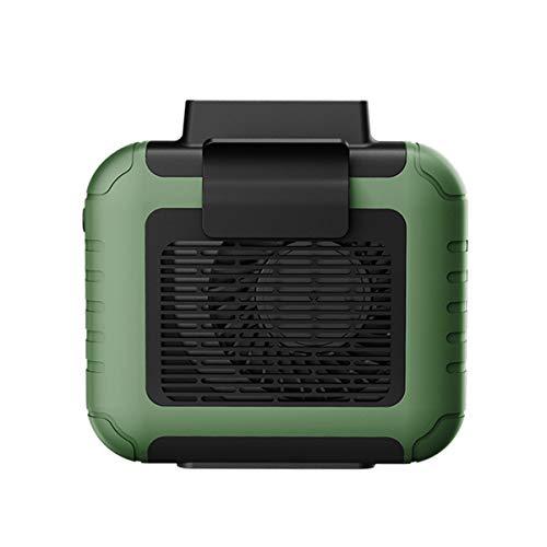 QNMM Ventilador Cintura Colgante Personal Portátil USB con Batería de Recarga Ventilador Eléctrico Portátil Ultra Silencioso Aire Acondicionado Portátil para Uso En Viajes En Interiores Y Exteriores