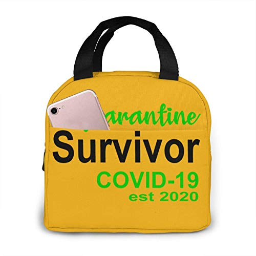 Coronavirus Lunch Bag for Women Girls Insulated Picnic Pouch Thermal Cooler Tote Bento Large Meal Prep Cute Bag Big Leakproof Soft Bags for Lunch Box, Camping, Travel, Fishing