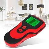 Detector de metales 3 en 1 Detector de metales fácil de leer para madera, metal(red)
