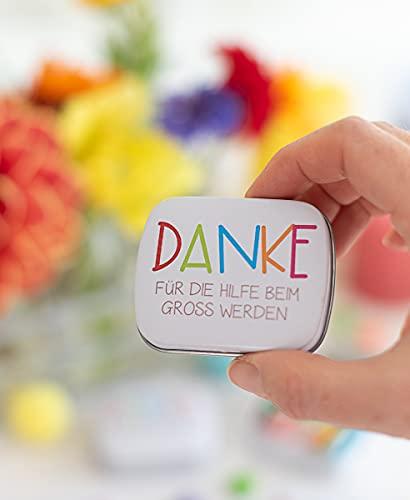 3 Stück - Danke - Kindergarten - Abschiedsgeschenk - Kindergartenabschied - für Erzieherin