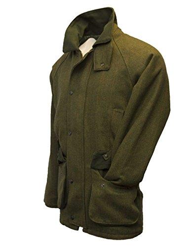 Walker and Hawkes Men's Derby Tweed Shooting Hunting Country Jacket X-Large Dark Sage