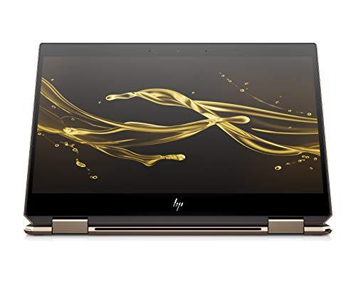 HP Spectre x360 13-ap0016ng (13,3 Zoll / FHD IPS Touch) Convertible Laptop (Intel Core i7-8565u, 256GB SSD, 8GB RAM, Intel UHD Graphics 620, Win 10 Home) Dark Ash Silber