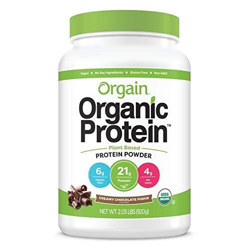 オルゲイン オーガニック プロテインパウダー [クリーミーチョコレートファッジ] 920g 有機JAS認定 正規輸入品 植物性