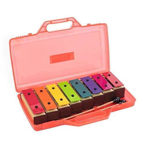 Percussion Plus - Xilofono a 8 note, barre multicolore