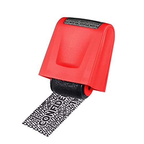 SHUIZHUYU Roller Stamp Identity Protection Roller Stamps Identity Guard Kit Extra Wide Designed Perfect for Security Anti Theft Privacy Safety Protection Blockout Information Personal (Color : B)