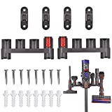 MEROM Docking Station Accessory Holder Attachments Organizer Compatible with Dyson V11 V10 V8 V7 Cordless Stick Absolute Animal Trigger Motorhead Vacuum Cleaner Tools Wall Mount (Pack of 2)