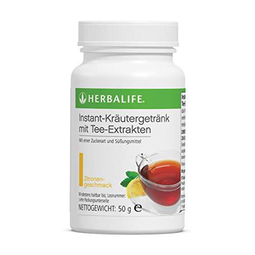 Herbalife Koffeinhaltiges Instant Kräutergetränk mit Tee Extrakten in der Geschmacksrichtung Zitrone 50g