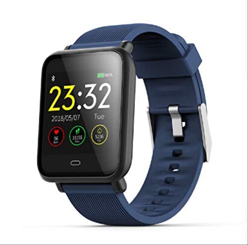 ZHOUMEI Praktische Smart watchSport Smart Horloge Armband Band Fitness Tracker Stappenteller Calorieën Hartslag Polsband Voor Smartphones Ios Android-apparaten (Kleur : Paars)