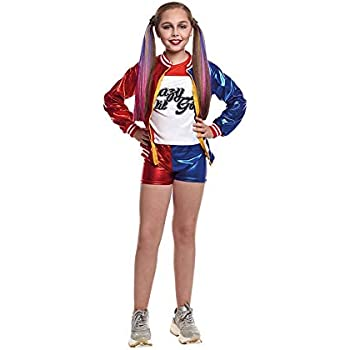 Disfraz Harley Quinn Jokers Baby niña Infantil para Carnaval ...